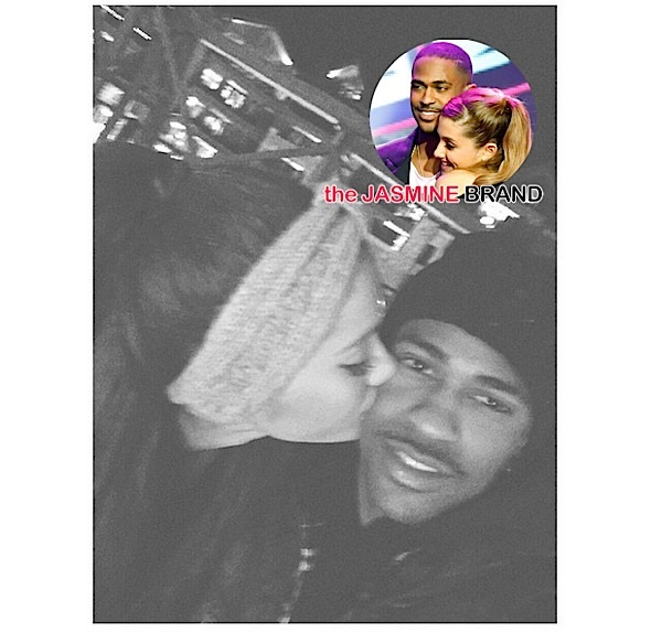 Big Sean & Ariana Grande Kill Break-Up Rumors, Get Kissy Face in Tahoe [Photos]