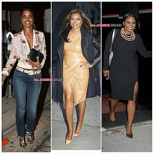 Celebrity spottings-kim porter-taraji p henson-keshia knight pulliam-the jasmine brand