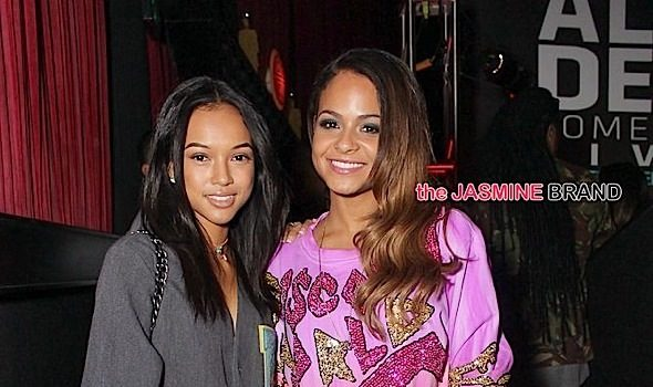 Russell Simmons, Karrueche, Christina Milian, Baron Davis, Lil Mo Attend All Def Comedy Live [Photos]