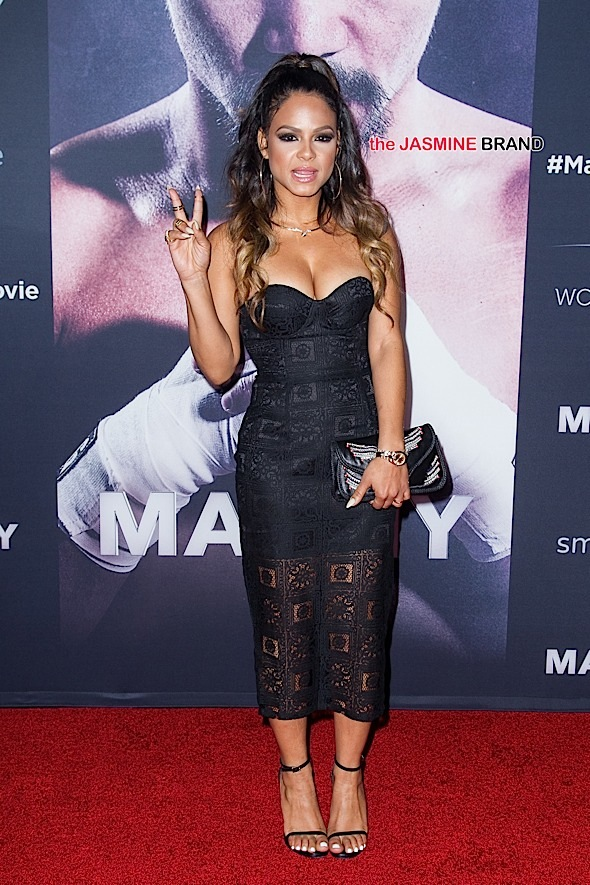 Christina Milian attends the World Premiere of 'Manny' in Hollywood