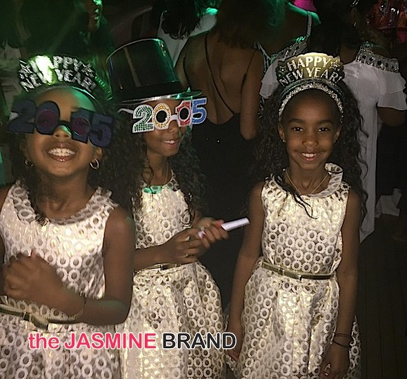 Rihanna, Russell Simmons, Tameka Raymond Party at Diddy's St. Barth's NYE Bash [Photos]