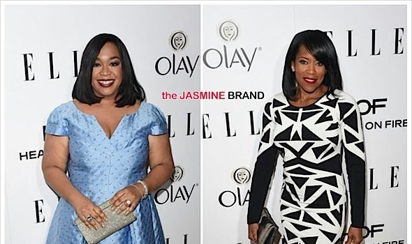 ELLE Women in Television: Shonda Rhimes, Regina King, Tracee Ellis Ross, KeKe Palmer Attend [Photos]