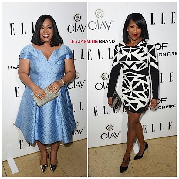 ELLE Women in Television: Shonda Rhimes, Regina King, Tracee Ellis Ross, KeKe Palmer Attend [Photos]