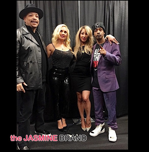 Hazel E and Katt Williams-Ice Tea and Coco-Double Date-the jasmine brand