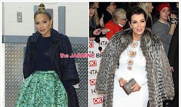 Celebrity Fashion: J.Lo In Christian Siriano & Kris Jenner In Emilio Pucci [Photos]