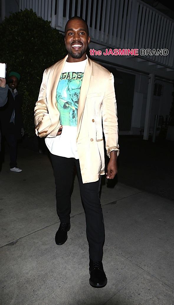Kanye West dines alone at Gorgio Baldi in Santa Monica