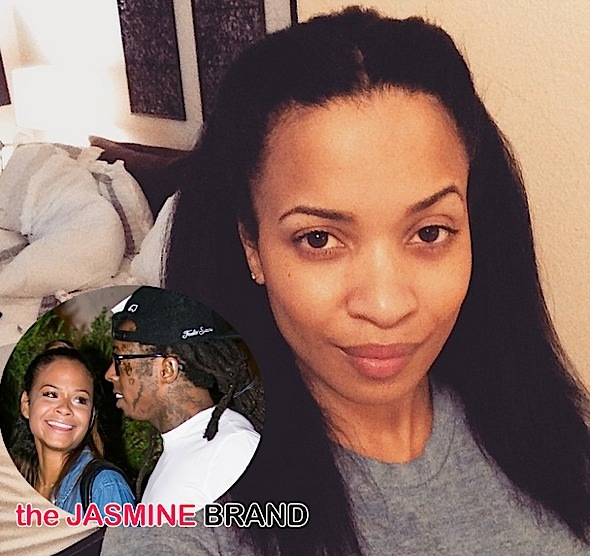 Karrueche Tran-Christina Milian-Argue Over Lil Wayne-the jasmine brand