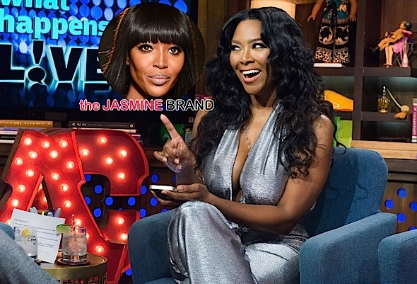Kenya Moore Has Choice Words for Naomi Campbell [Video]