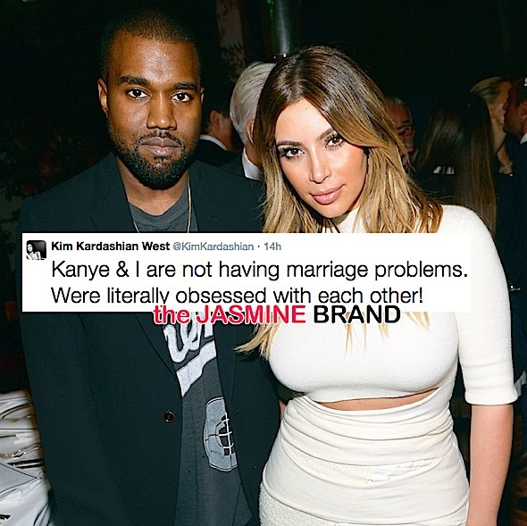 Kim Kardashian-Denies Marital Problems-Pregnancy-the jasmine brand