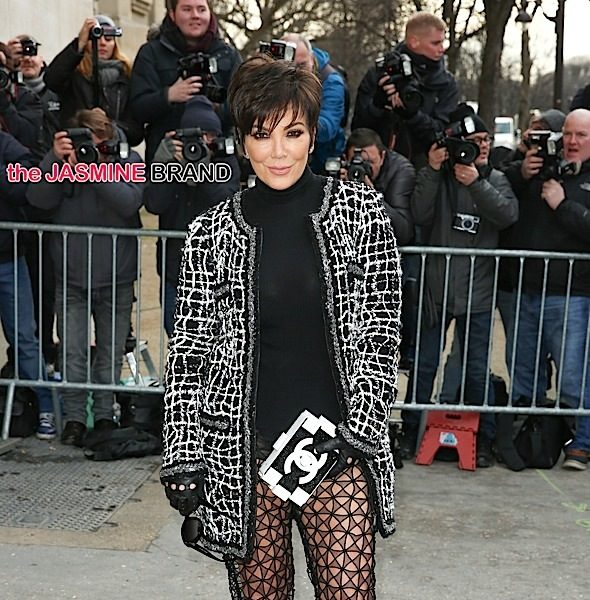 Celebrity Fashion: Kris Jenner Wears Chanel to Chanel Haute Couture SS15 Fashion Show + Kendall Jenner Hits the Runway [Photos]