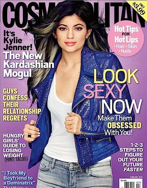 Kylie Jenner Denies Plastic Surgery Rumors With Cosmo + Justin Bieber Lands Calvin Klein Deal