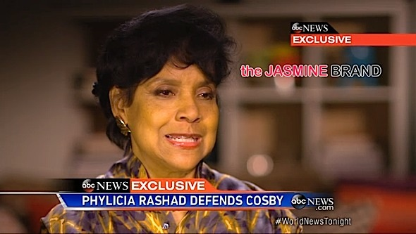 Phylicia Rashad Says She Was Misquoted: I would never say such a thing. [VIDEO]