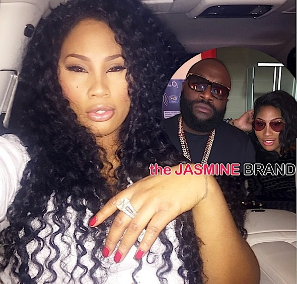 Rick Ross Girlfriend Ming Lee-In talks Reality TV-the jasmine brand