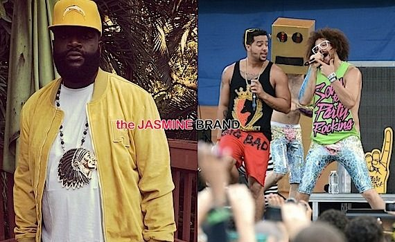 (EXCLUSIVE) LMFAO – Rick Ross Should Thank Us, Our Song Helped Him Make MONEY!