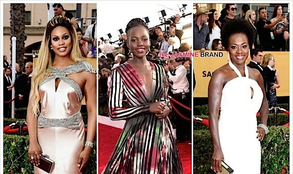 SAG Awards Red Carpet Fashion: Lupita Nyong'o, Viola Davis, Paula Patton, Laverne Cox, Lenny Kravitz [Photos]