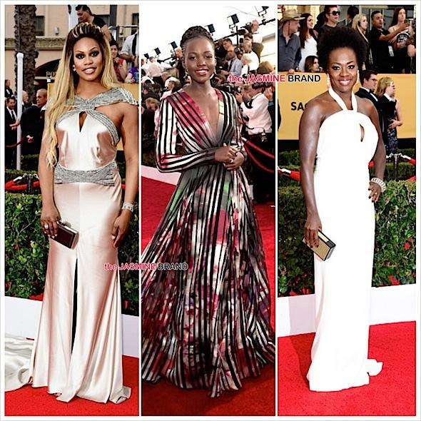 Laverne Cox, Lupita Nyong'o, Viola Davis