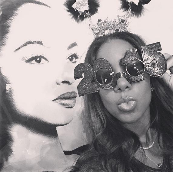 Celebs Ring in 2015: Beyonce, Ciara, Nelly, Jamie Foxx, Kelly Rowland, Khloe Kardashian, Gabrielle Union, Kobe Bryant, Chanel Iman