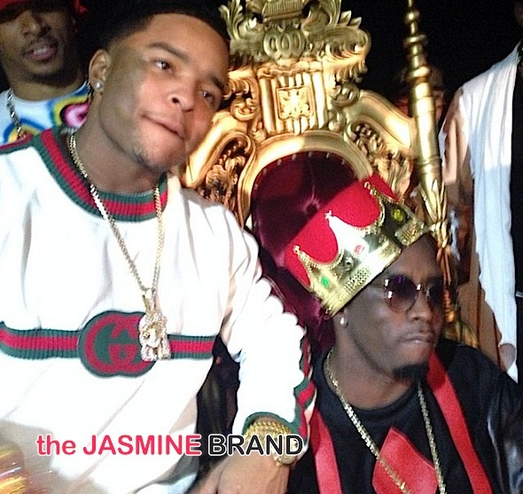 Justin Combs Goes 90's For 21st B-Day + Diddy, Cassie, Justin Bieber Attend [Photos]