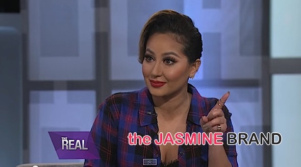 Adrienne Bailon Brought to Tears Over Music Career: I don't like the sound of my own voice. [VIDEO]