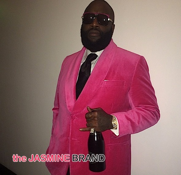 Rick Ross Celebrates 39th Birthday With Intimate Dinner [Photos]