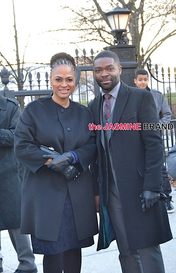 'Selma' cast arrives at The White House after Oscars snub