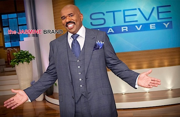Steve Harvey Accused of Racism In Lawsuit: Spit On White People!