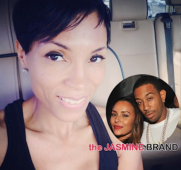 Tamika Fuller-Side Eyes-Ludacris Marriage to Eudoxiee-the jasmine brand