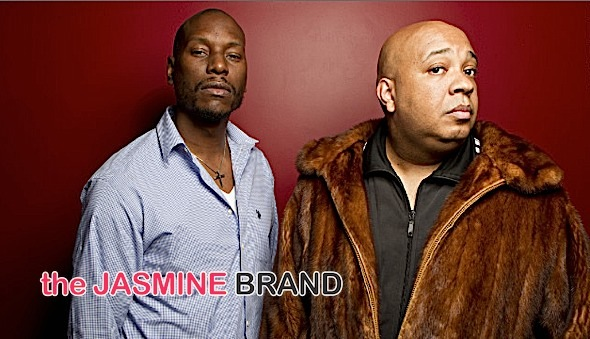 Tyrese-Rev Run-talk show-the jasmine brand