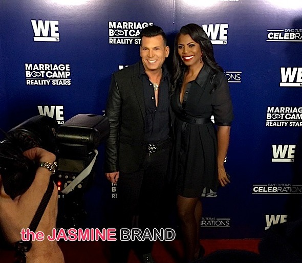 WE tv Marriage Boot Camp Reality Stars and  David Tuteras CELEBrations-premiere party-the jasmine brand