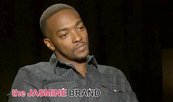 Anthony Mackie Says 'Black Men With Dreadlocs' Comments Taken Out of Context [VIDEO]