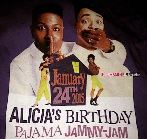 alicia keys-birthday pajama jammy jam party-the jasmine brand