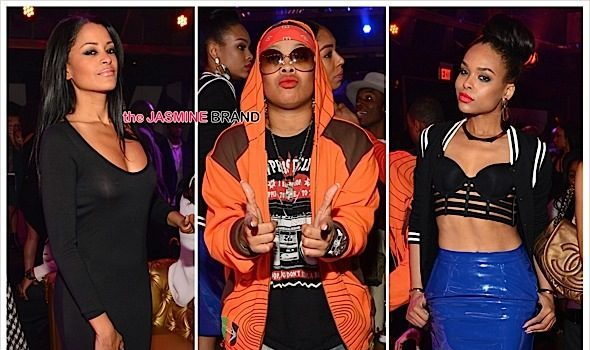 Victor Cruz, Claudia Jordan, Jeezy, Da Brat, Demetria McKinney Party in ATL [Photos]