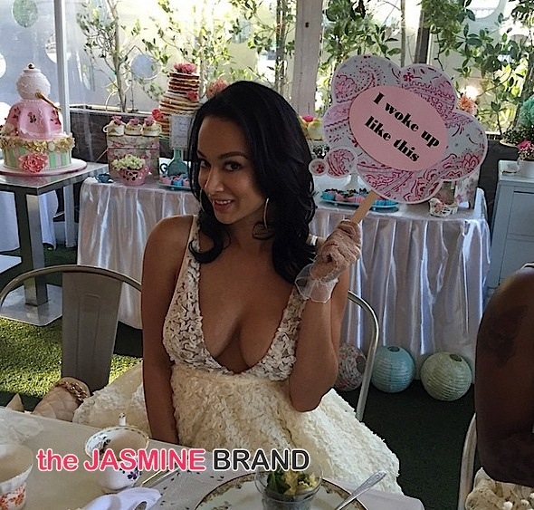 Basketball Wives LA's Draya Michele Celebrates Birthday With Tea Party [Photos]