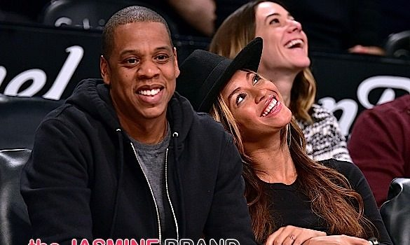 Beyonce & Jay Z Trip-A-Referee at Brooklyn Nets Game [Photos]