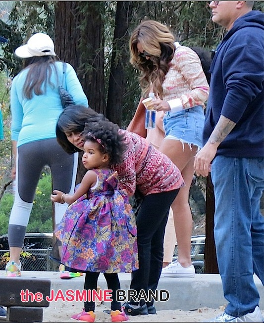 blue ivy-solange-beyonce-la griffith park-the jasmine brand