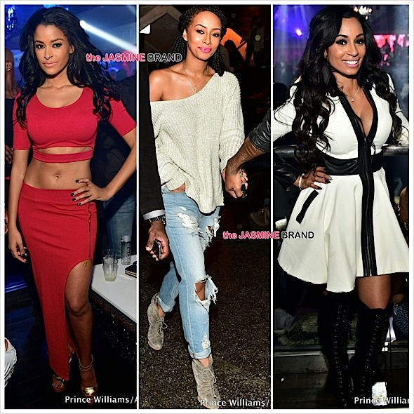 Keri Hilson, Omarion, T-Pain, Mimi Faust, Claudia Jordan, Julissa Burmudez Party in Atlanta [Photos]
