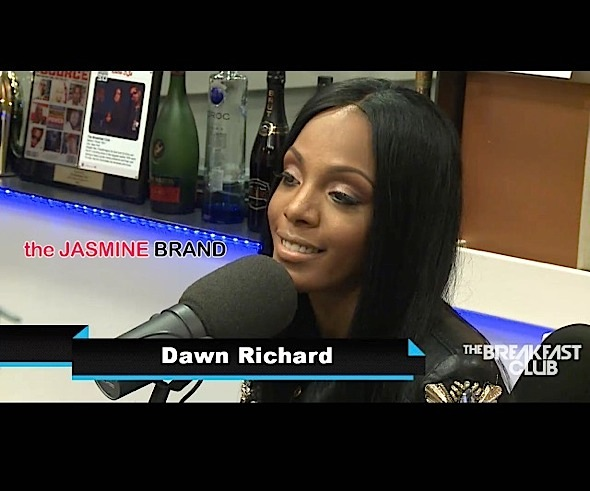 dawn richard plastic surgery-fight with aubrey oday-the jasmine brand