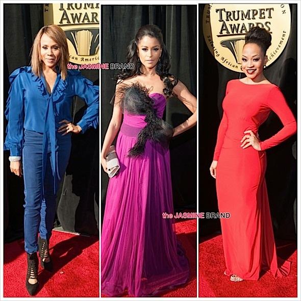 23rd Annual Trumpet Awards Red Carpet: Jamie Foxx, Janalle Monae, Naturi Naughton, Quvenzhane Wallis [Photos]