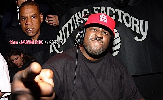 DJ Funkmaster Flex Calls Jay Z's Web Site Trash: You're funny looking and you're a clown! [Audio]