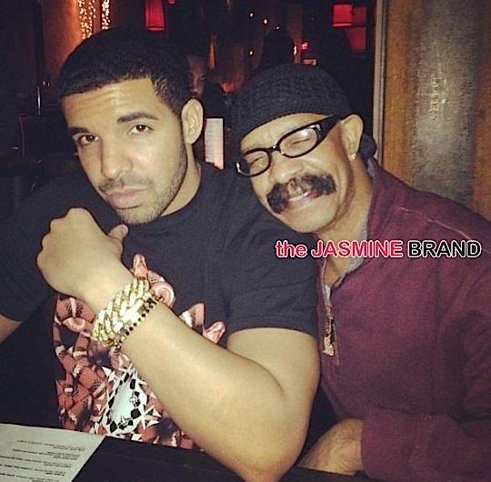 Drake & his father Dennis