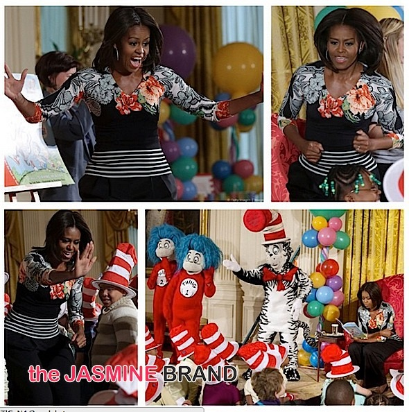 first lady michelle obama-dr seuss-the jasmine brand
