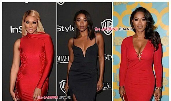 Golden Globes After-Party Scene: Gabrielle Union, Kenya Moore, Tamar Braxton, Regina Hall, Niecy Nash, NeNe Leakes, 50 Cent [Photos]