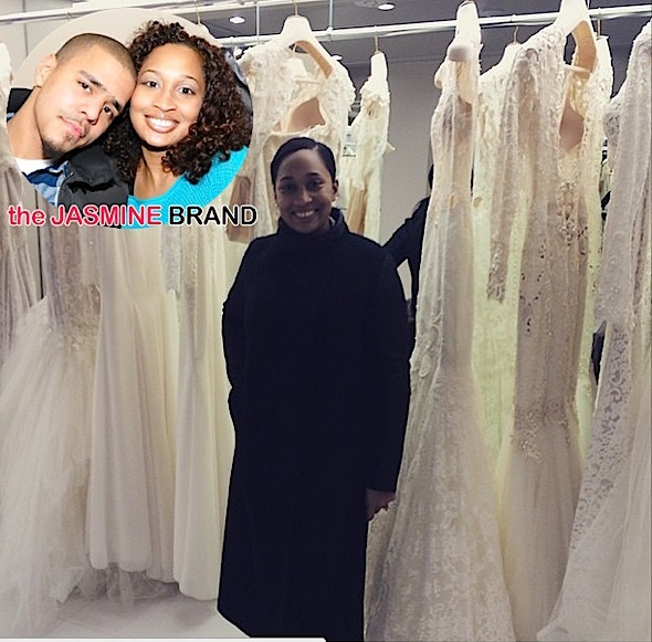 Spotted. Stalked. Scene. J.Cole's Fiancee Melissa Heholt Preps for Wedding [Photo]