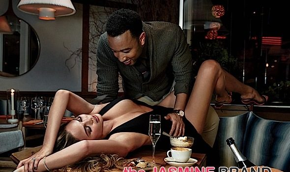 John Legend & Chrissy Teigen Hit the Streets, Kitchen Table & Bed For GQ Spread [Photos]