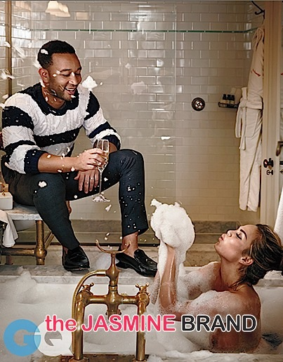john legend-wife chrissy teigen-gq spread-the jasmine brand