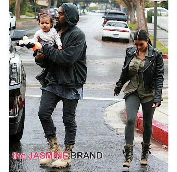 kanye west-baby north-kim kardashian-the jasmine brand