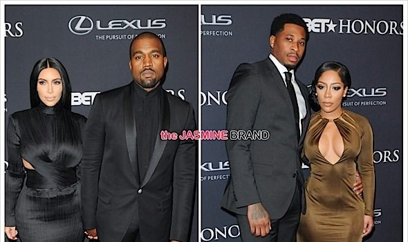 BET Honors Red Carpet: Kim Kardashian, Kanye West, K.Michelle, Trey Songz, Usher [Photos]