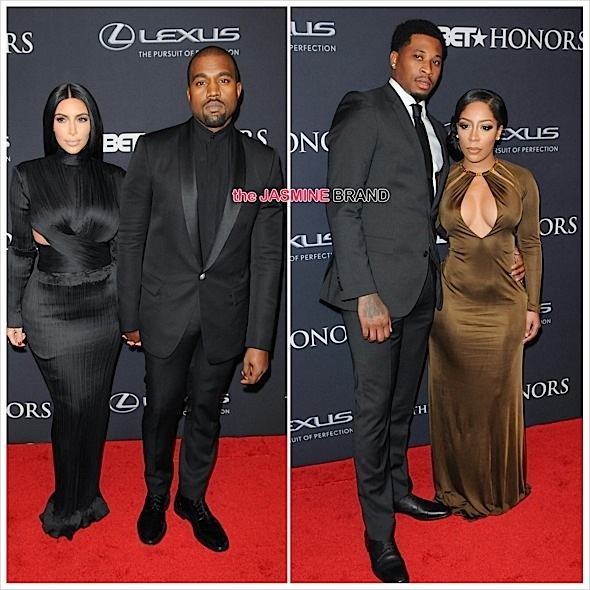 kanye west-kim kardashian-k.michelle-bet honors 2015-the jasmine brand