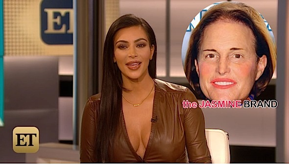 Kim Kardashian Defends Bruce Jenner: When the time is right, he'll talk… [VIDEO]