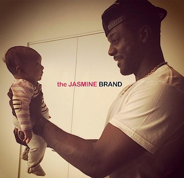 lance gros-celebrity kids-debuts daughter-the jasmine brand